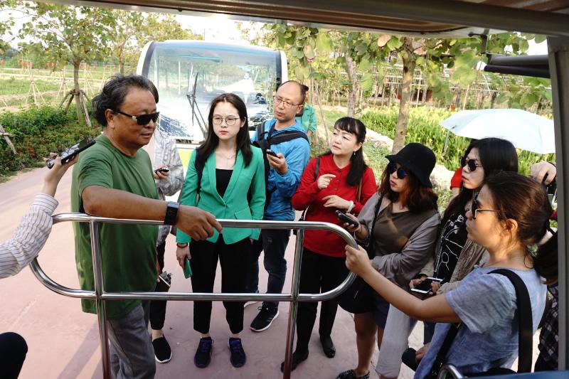 (中外新闻社 中外新闻网 海南报道)三亚海棠湾水稻国家公园位于